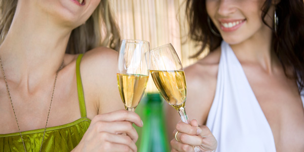 Teeth whitening for Melbourne Spring Racing Carnival sparkling wine toast