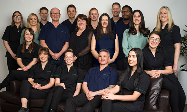 Richmond Fine Dentistry Team 2019 with Dentists, Dental Surgeons, Hygienists, Oral Therapists and Dental Assistants.